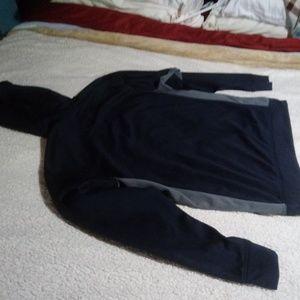 Nike Therma Fit Hoodie Dark Blue LARGE